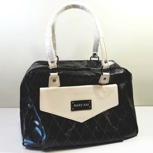 Mary Kay Tote Bag Black Makeup Carrying Case Large